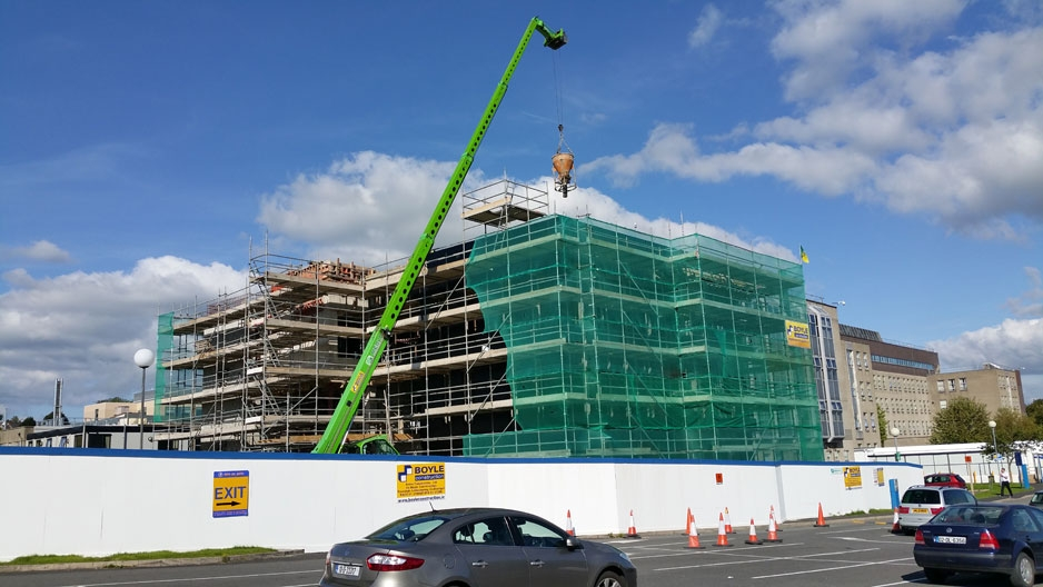 Construction of new NUI Galway's Medical Academy at Letterkenny General Hospital underway!